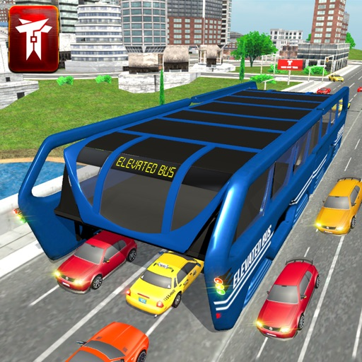 Chinesse Bus: China City Transit Elevated Bus Simulator 3D: 2017 By Syed