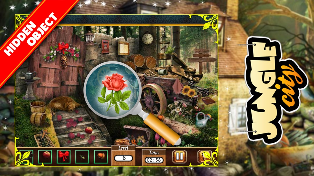 Search And Find Objects Free Hidden Object Games Online Game