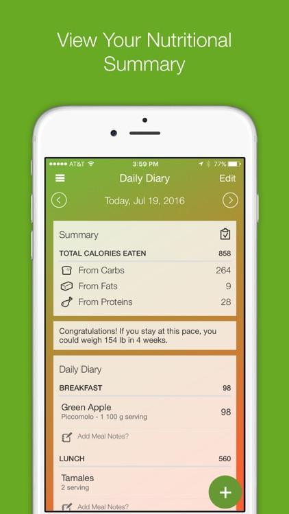 My Diet Diary Calorie Counter screenshot-4