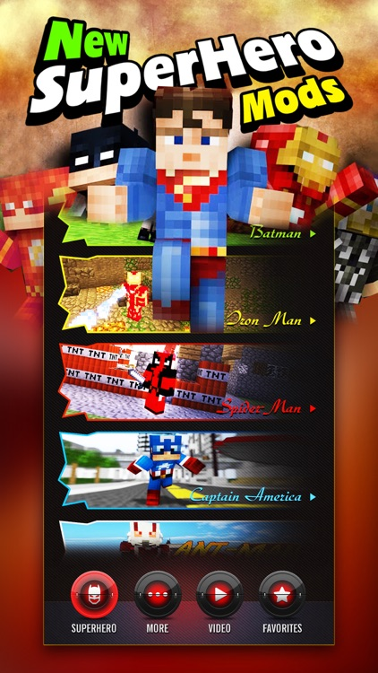 Pro Superhero Mod - for Deadpool Minecraft PC