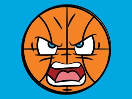 Express all of your emotions about the big game with these awesome basketball themed emoji stickers