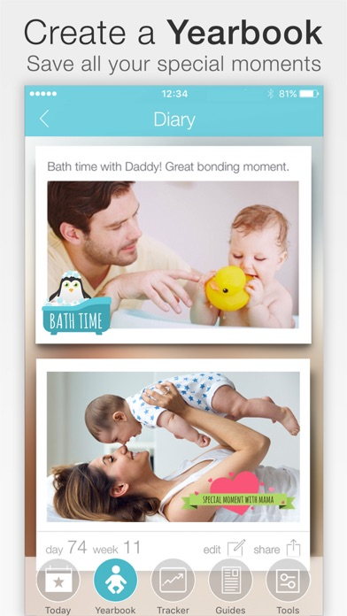 Screenshot for Baby + in Denmark App Store
