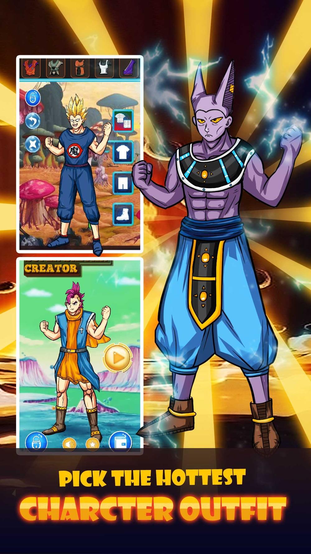 Super Saiyan DressUp - for Dragon Ball Z Heros hack tool