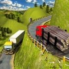 Off-road grande Rig Caminhão Simulador 3D Escola icon