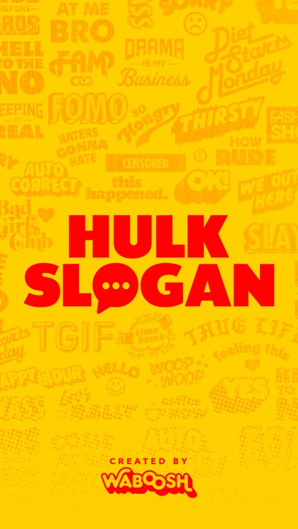 Hulk Slogan screenshot-0