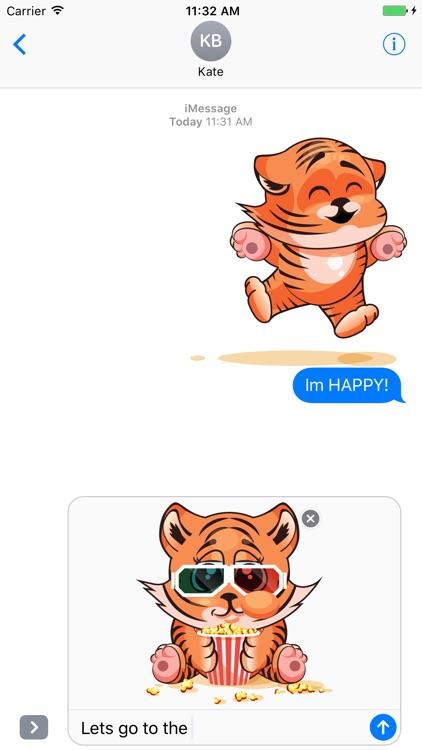 Tiger Stickers Mania