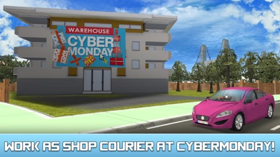 City Car Delivery Boy Simulator 3D-0