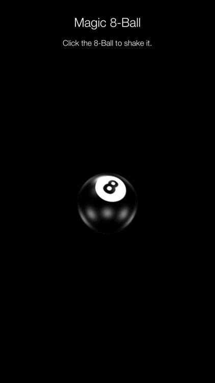 Magic 8-Ball Game