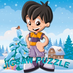 boy jigsaw puzzle educational games for kid school