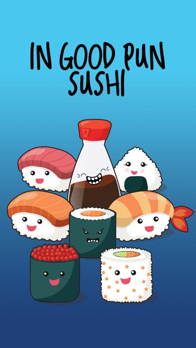 In Good Pun Sushi screenshot one