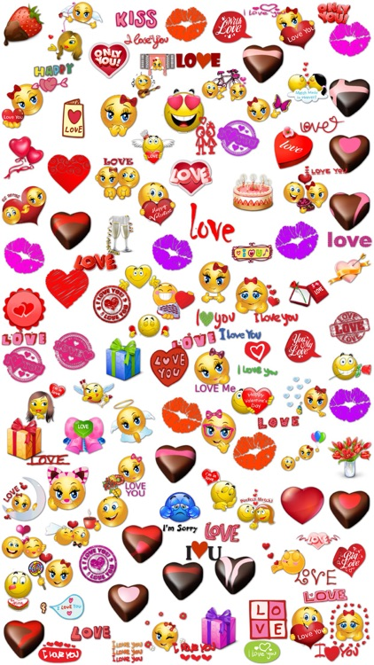 Love Stickers Chat for iMessage