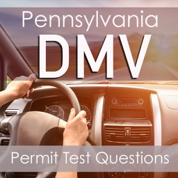 Pennsylvania DMV - Practice Questions for the Written PA Permit Driving Test - 2600 Flashcards Q&A -Drivers License Exam Preparation