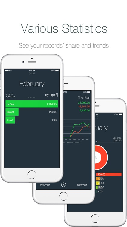 Money - Track your money easily.