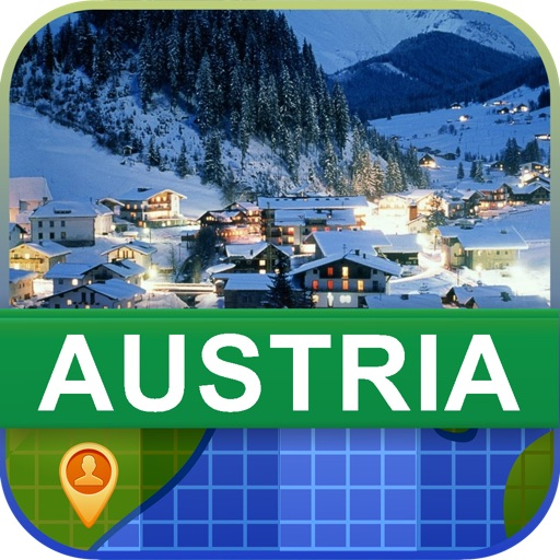 Offline Austria Map - World Offline Maps