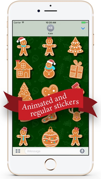 Gingerbread Christmas Cookies screenshot-0