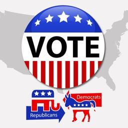 VoteMoji: USA Election 2016 Vote Me Sticker Pack