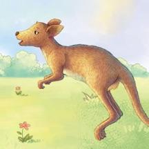 小袋鼠长大了-kimikids奇米双语互动绘本