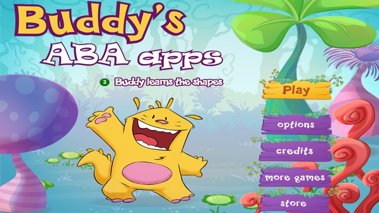 Learn the shapes - Buddy's ABA Apps screenshot-0