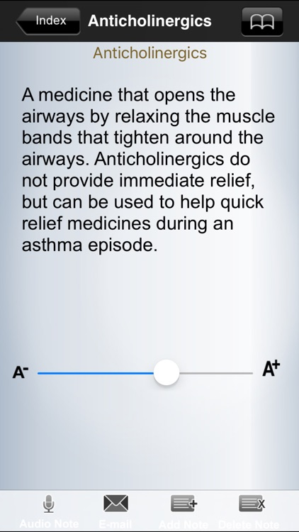 Asthma Glossary screenshot-2