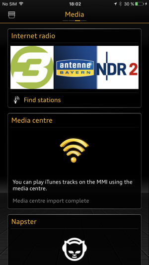 MMI connect Screenshot