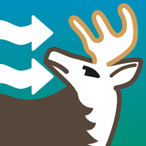 Wind Direction for Deer Hunting - Deer Windfinder app