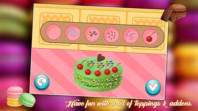 Macaron Cookies Maker 2 - Crazy Dessert Maker Game screenshot-4