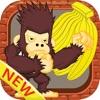 King kong eat banana jungle games for kids