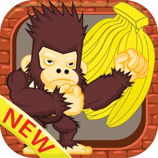 Baixar Jogos kong rei comer banana selva executar criança para iOS