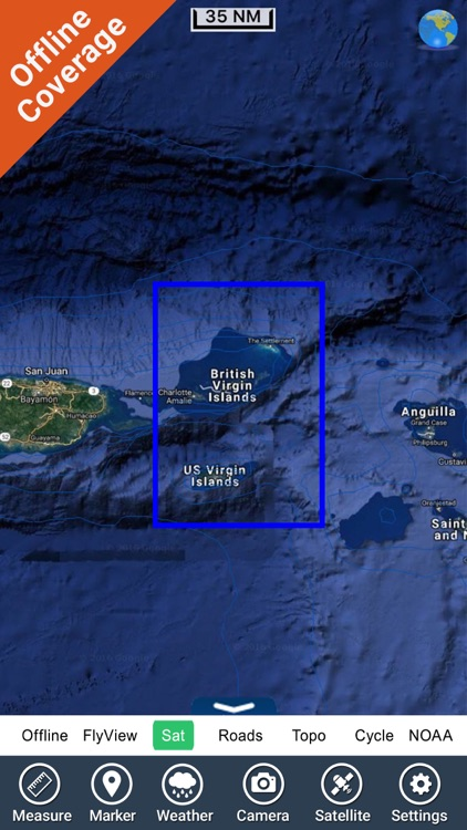 Virgin Islands HD GPS Map Navigator screenshot-4