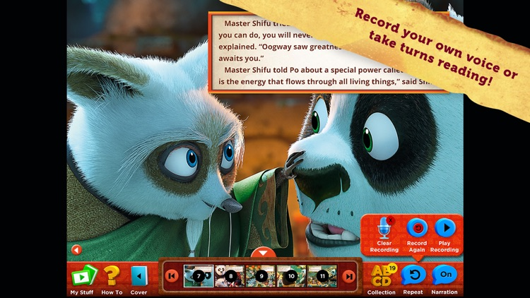 Kung Fu Panda 3: Interactive Storybook screenshot-2