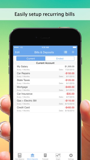 balance guide my accounts and checkbook tracking on the app store