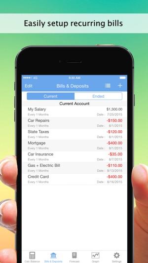 balancing checkbook app