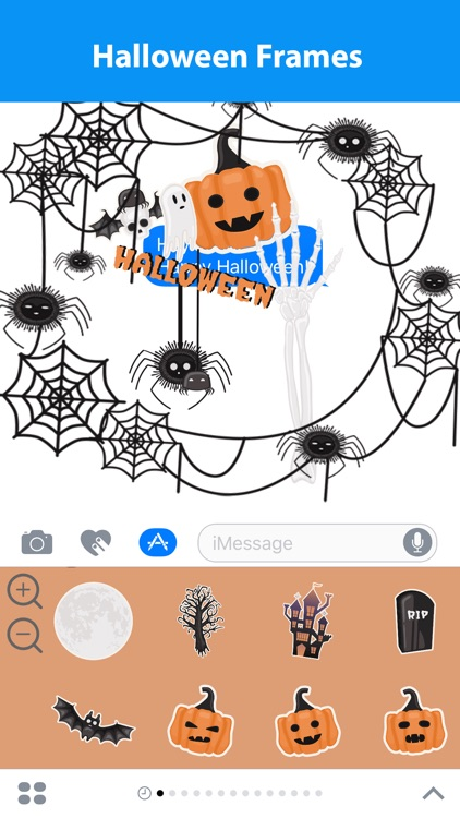 Halloween Sticker Maker for iMessage