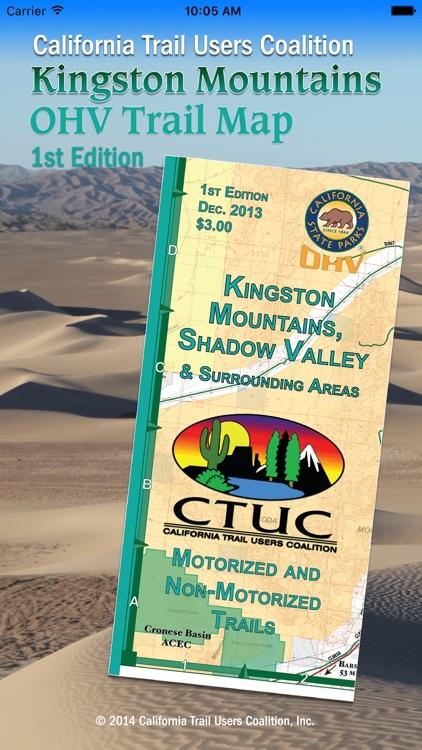 CTUC Kingston & Shoshone Mtns