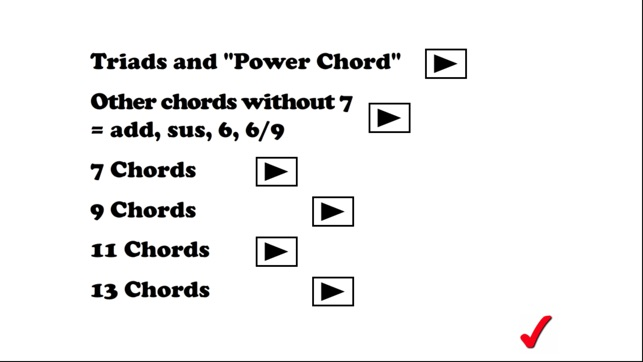 Chords, chords and more chords on the App Store