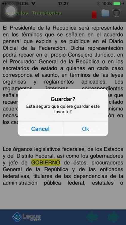 Ley de Amparo, Reglamentaria de la Constitución screenshot-3