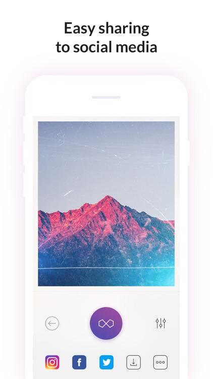 Filterloop Infinite - Instant Analog Photo Effect screenshot-4