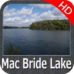 Lake Macbride IOWA HD GPS fishing chart offline
