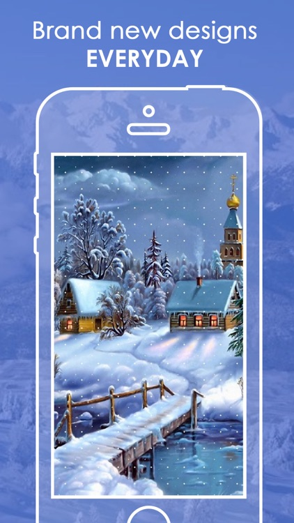 Snowfall Wallpapers HD | Live Snowfall Backgrounds screenshot-4
