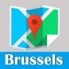 布鲁塞尔旅游指南地铁去哪儿比利时地图 Brussels metro gps map guide
