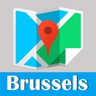 Brussels metro and offline map trip advisor icon