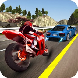 Traffic Moto Rider : Heavy Bike Racer
