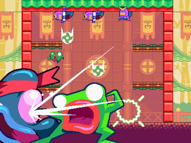 Green Ninja: Year of the Frog Screenshot