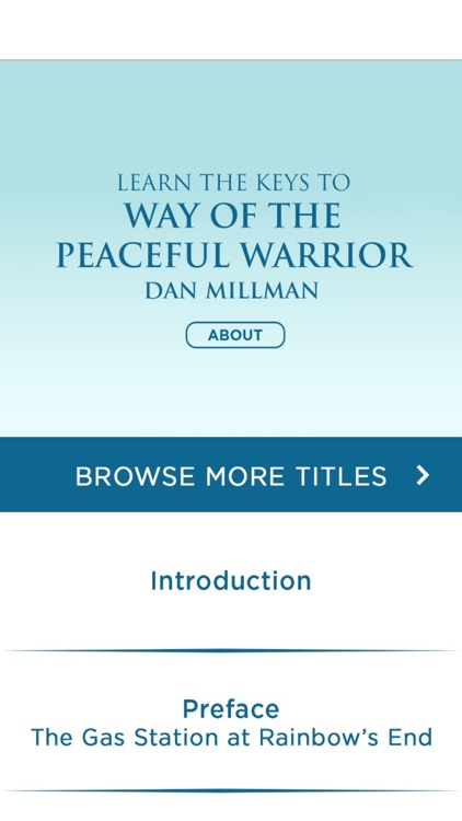 Way Of The Peaceful Warrior Meditations Audiobook