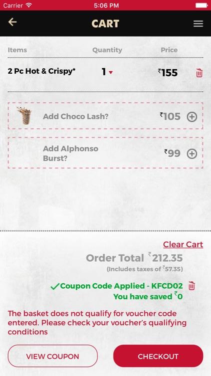 KFC India screenshot-3