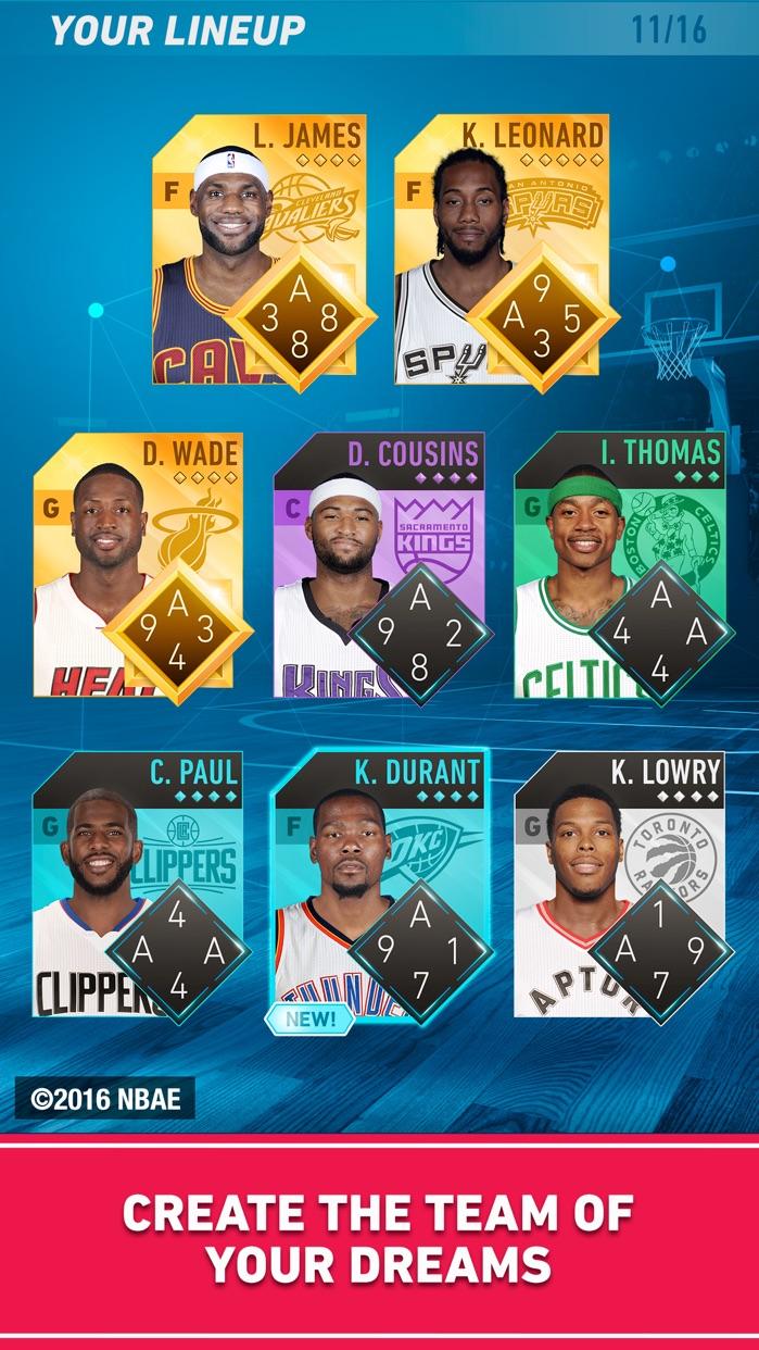 NBA FLIP: Official Basketball card game Screenshot