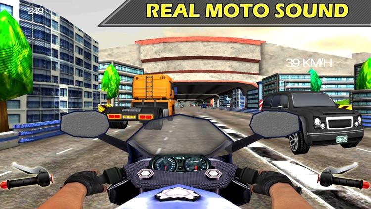 City Bike Drive : 3D Highway Ride 2016 screenshot-3