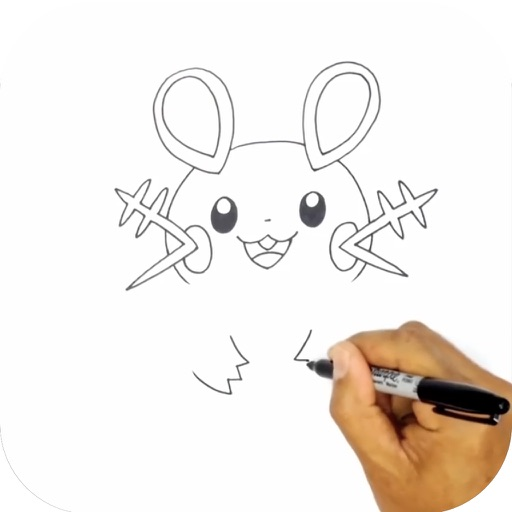 How to Draw Cartoons Step by Step Video for iPad