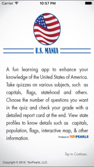 US Mania screenshot one