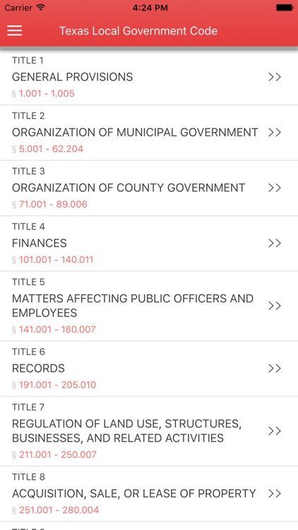 Texas Local Government Code 2017